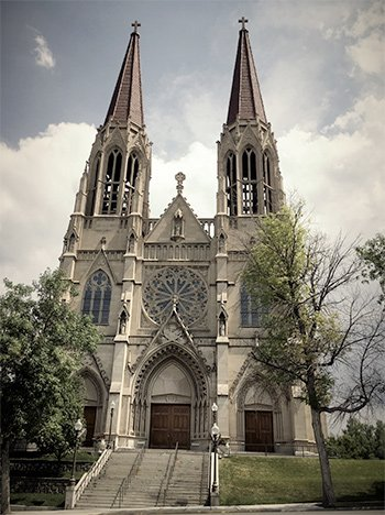 Cathedral of St. Helena, Montana