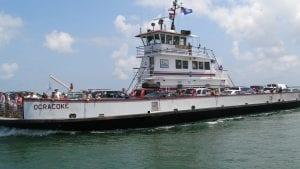 Hatteras-Ocracoke Ferry and Ocracoke Island