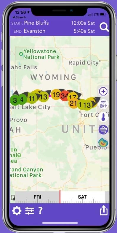 i80 Wyoming Weather