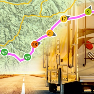 RV Drive Weather Route