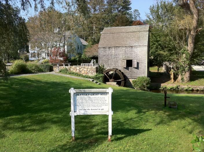 Dexters Grist Mill in Sandwich Massachusetts 705x527 1