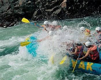 white water rafting road trip